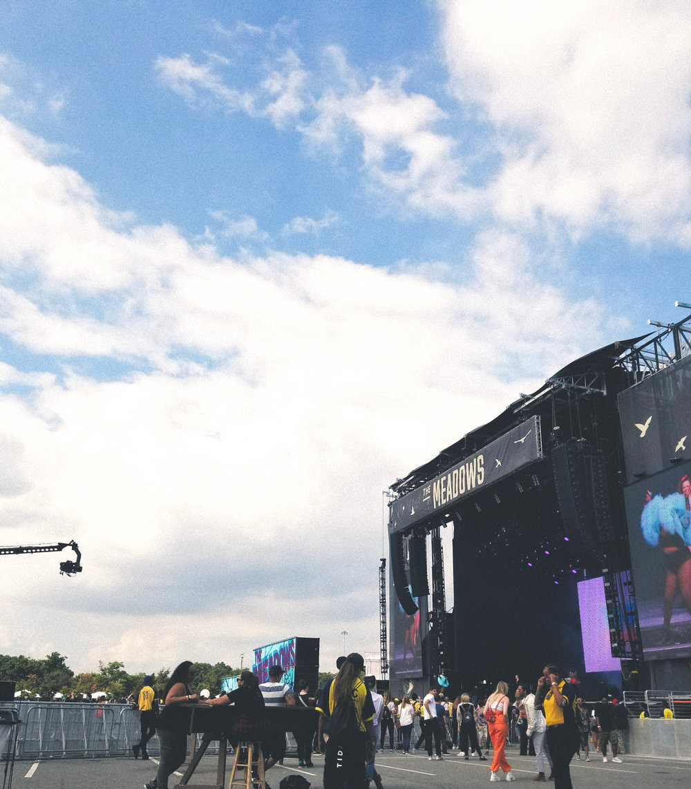 The Meadows stage