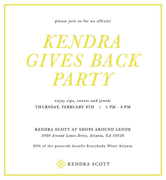 Please join us at Kendra Scott tomorrow for our #fundraiser and to #shopjewelry