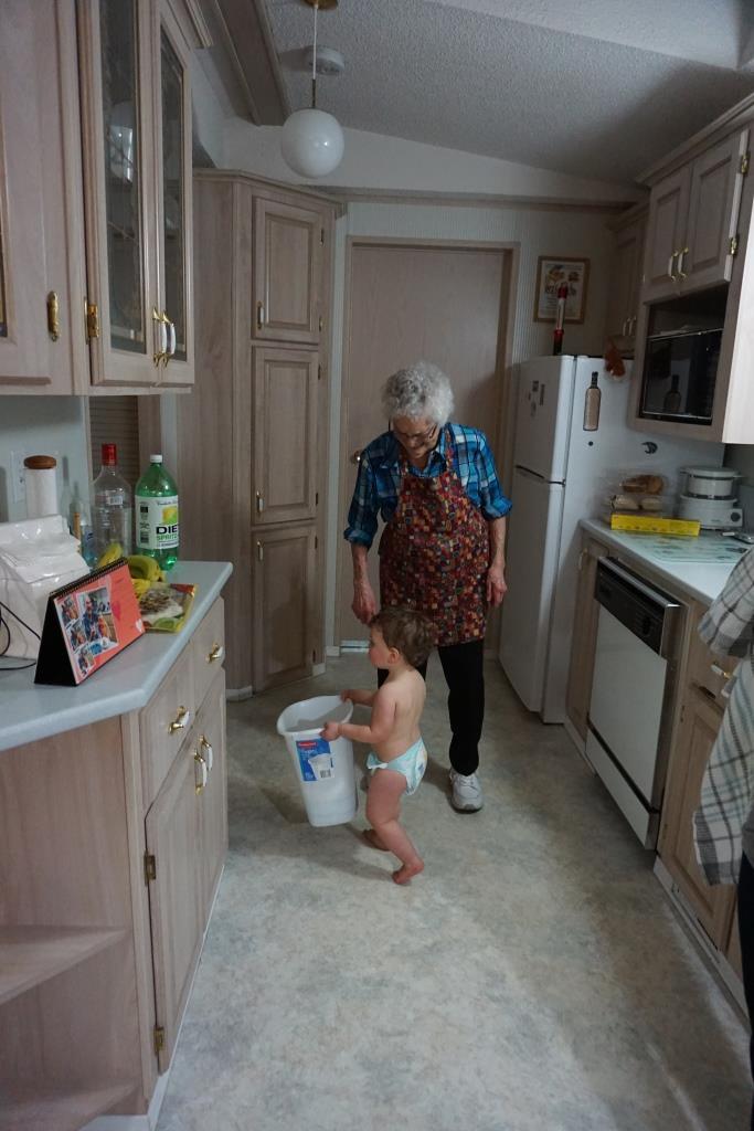 Helping take out the garbage.JPG