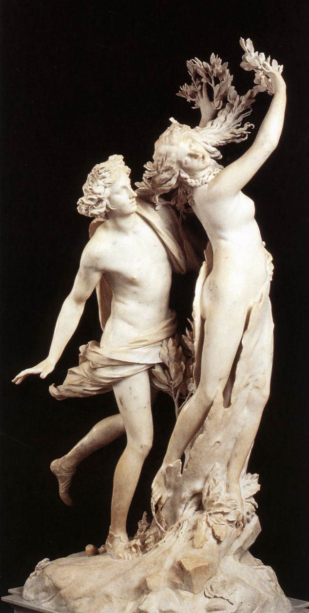 Apollo and Daphne, 1622-1625