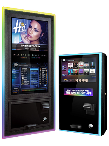 ABC Music offers AMI Jukeboxes to fit your locations needs.
