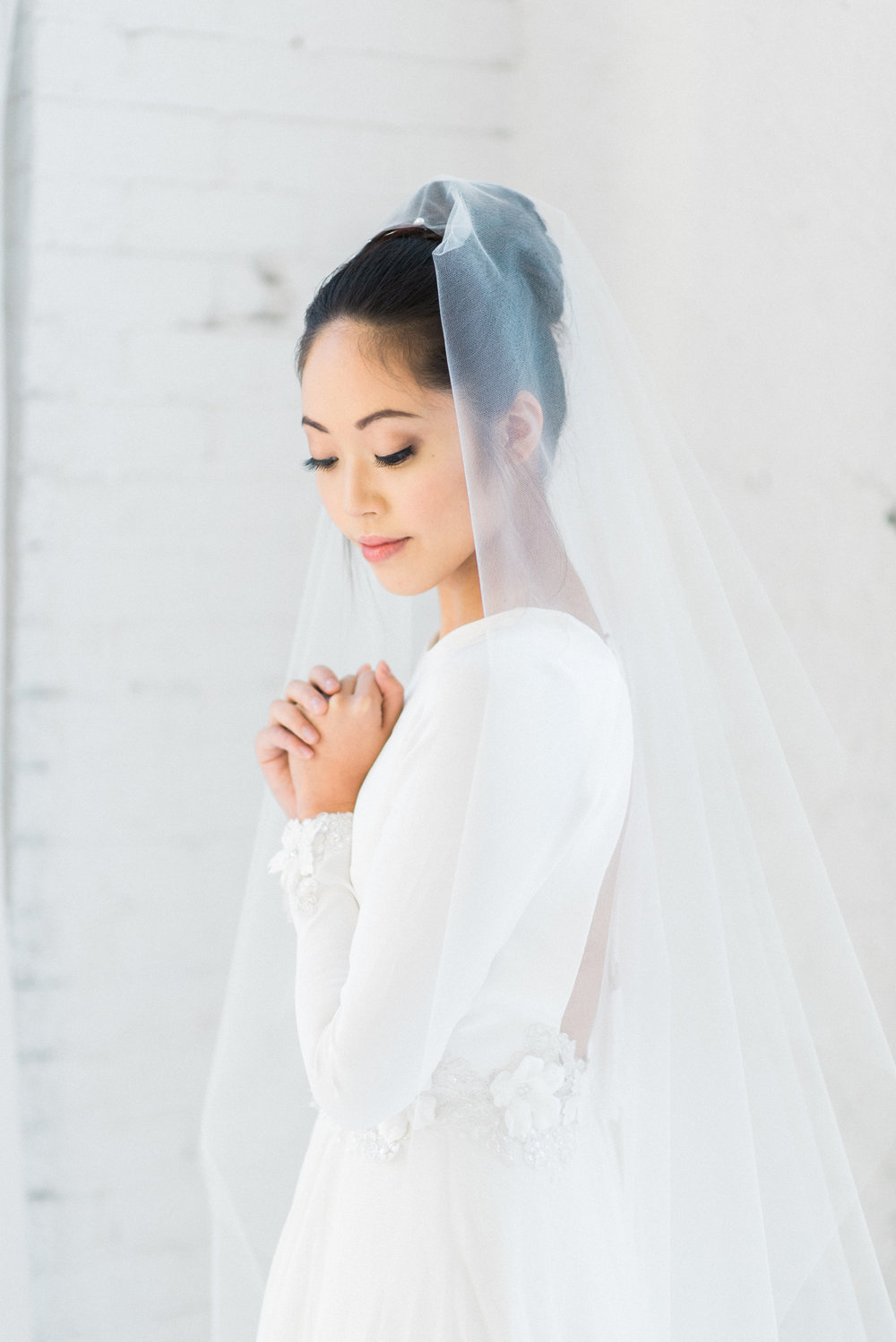 Chicago, Illinois IL bridal wedding hair and makeup asian