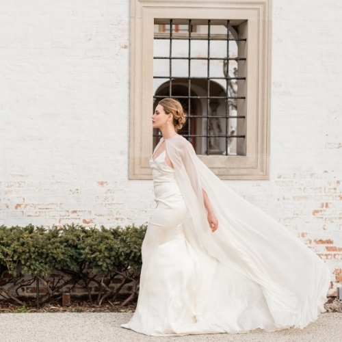 Bridal Cape Trend
