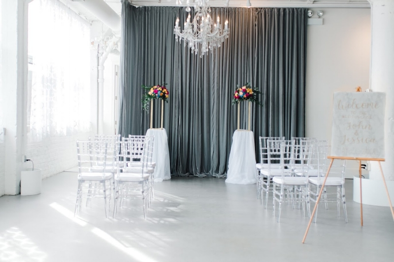 Room 1520 Chicago winter wedding venue