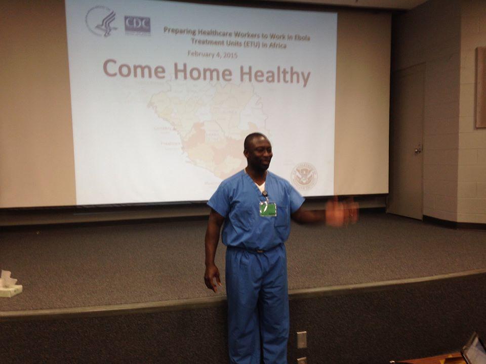 CDC Ebola Bobby Presentation