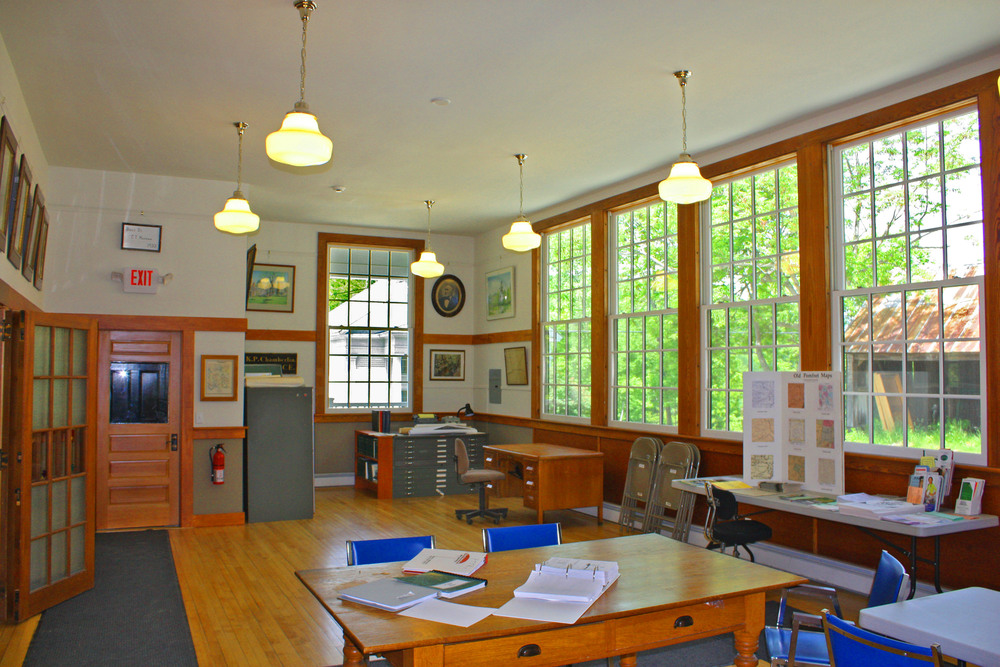 """The old, under-utilized school has been transformed into one of the best Town offices in the region.  We have received lots of favorable comments from the public...  Thank you for a job well done.""   Robert Harrington, Chair, Pomfret Selectboard Neil Lamson, Selectman Douglas Tuthill, Selectman"