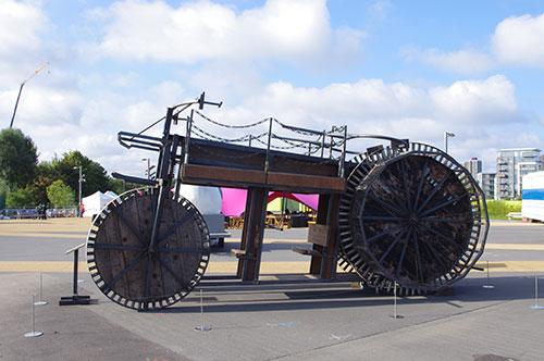 francis thorburn's vehicle #15