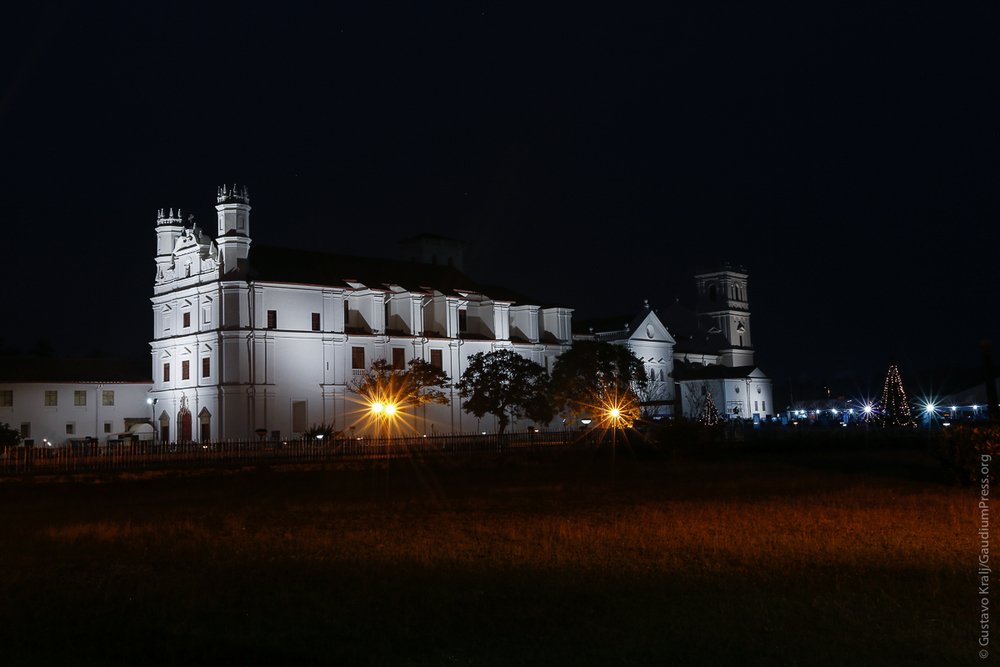 Goa: Iglesia de San Francisco y Catedral - Foto: Gustavo Kralj/Gaudiumpress
