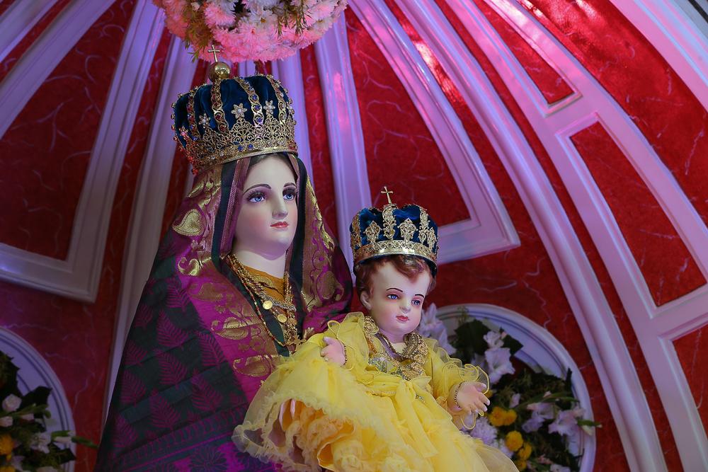 Bangalore, India: Santuario de Ntra Sra de la Salud - Foto: Gustavo Kralj/Gaudiumpress