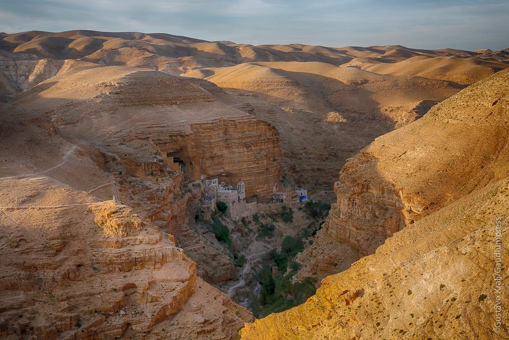 Tierra Santa: Monasterio de San Jorge, en el Desierto de Judea. Foto: Gustavo Kralj/Gaudiumpress
