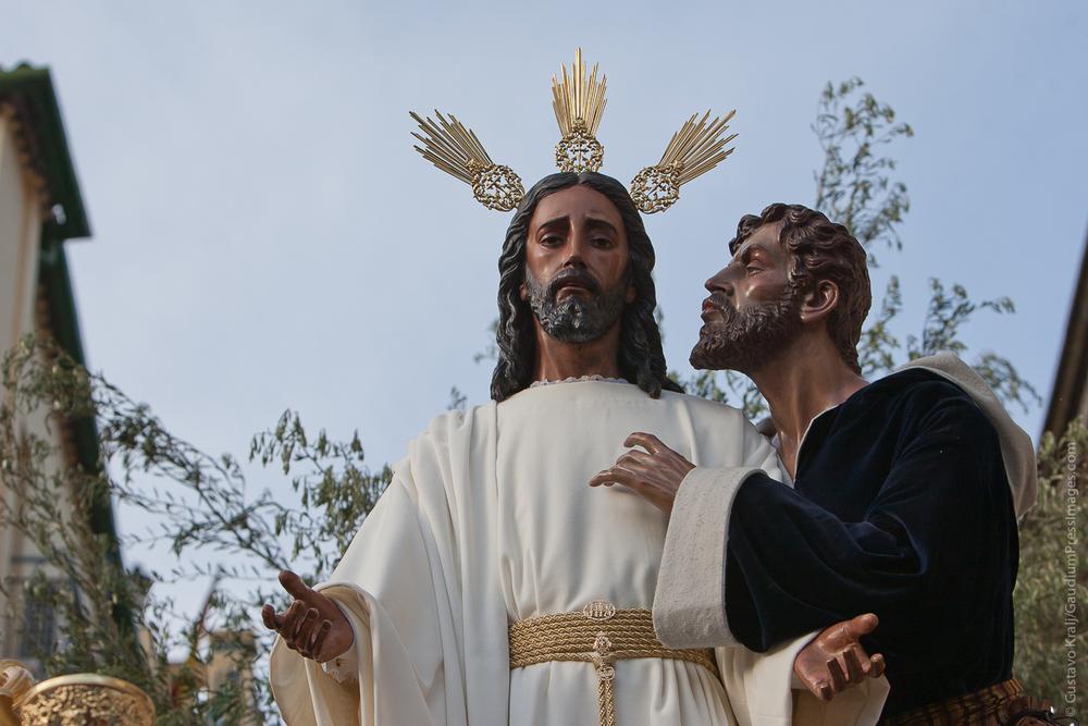 Sevilla, España: Nuestro Padre Jesús en el Beso de Judas. Foto: Gustavo Kralj/Gaudiumpress