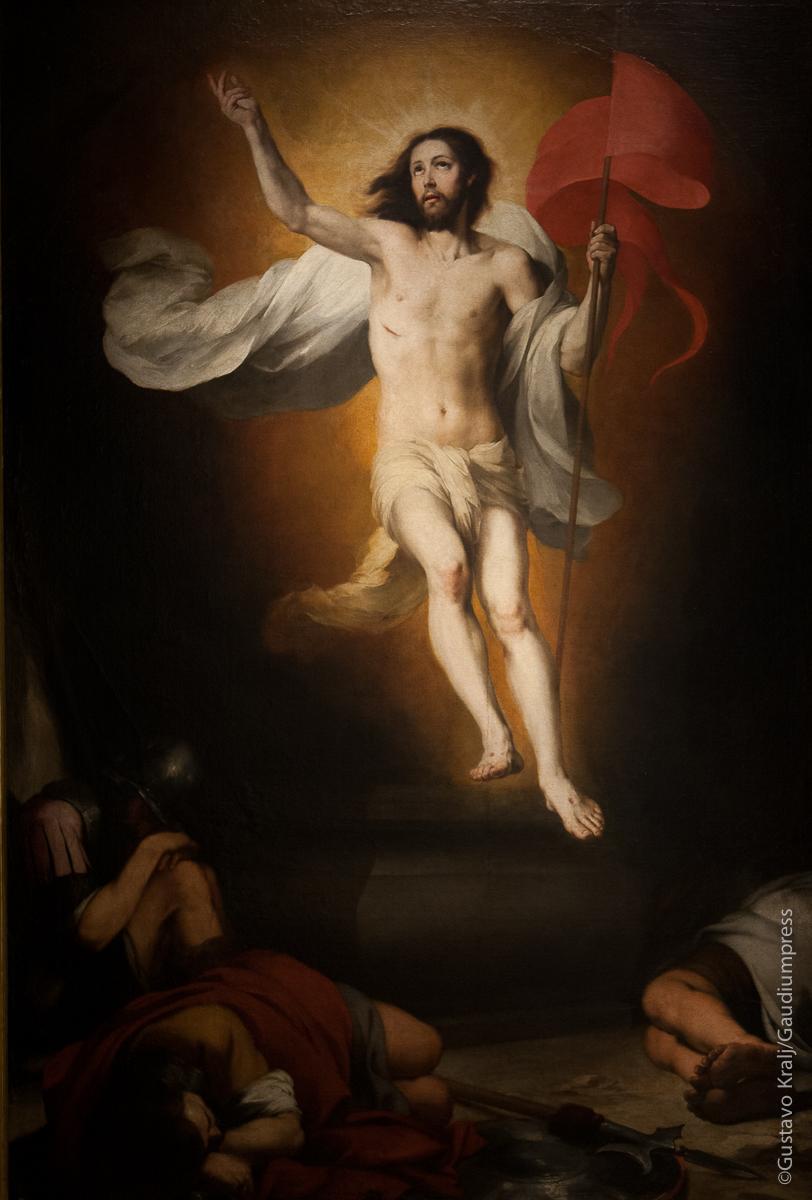 LeResurrección de Jesus por Esteban Murillo. Museo de Bellas Artes de Sevilla, España. Foto: Gustavo Kralj/Gaudiumpress