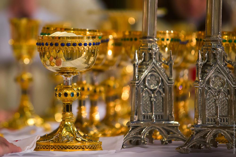 Eucaristía en la Basílica de los Heraldos del Evangelio - São Paulo, Brasil - Foto: Gustavo Kralj/Gaudiumpress