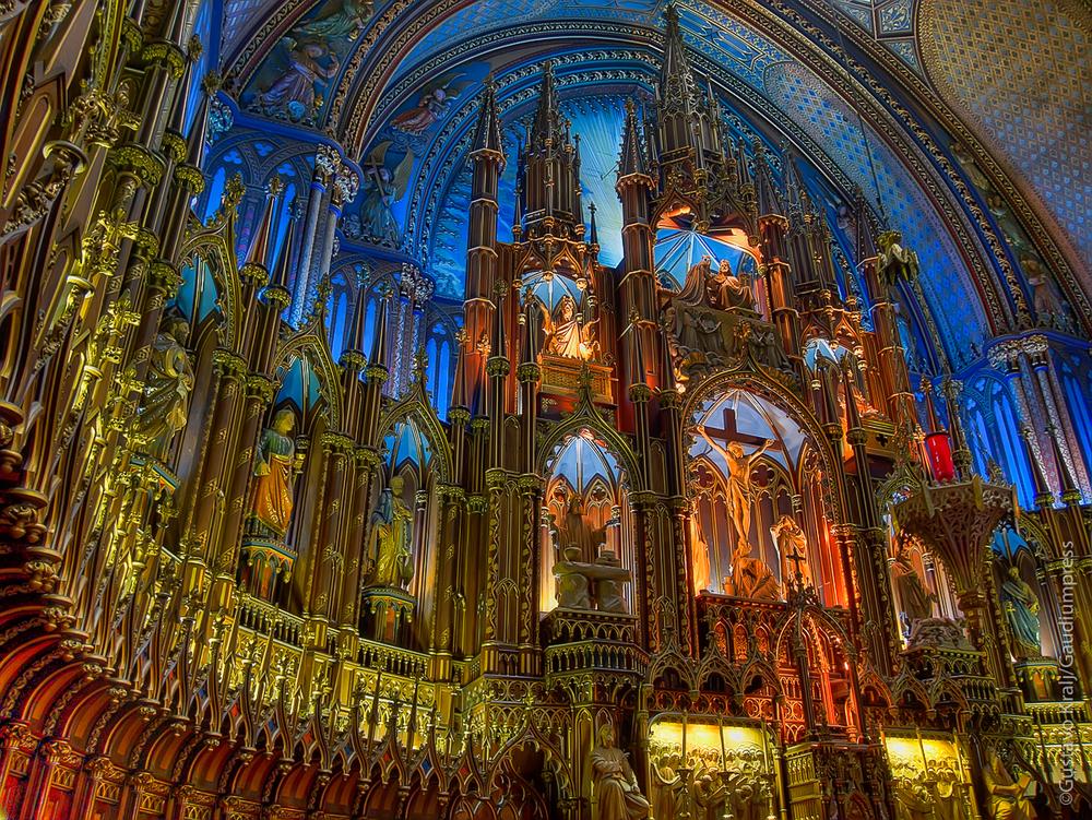 Montreal, Canada: Catedral de Notre-Dame - Foto: Gustavo Kralj/Gaudiumpress