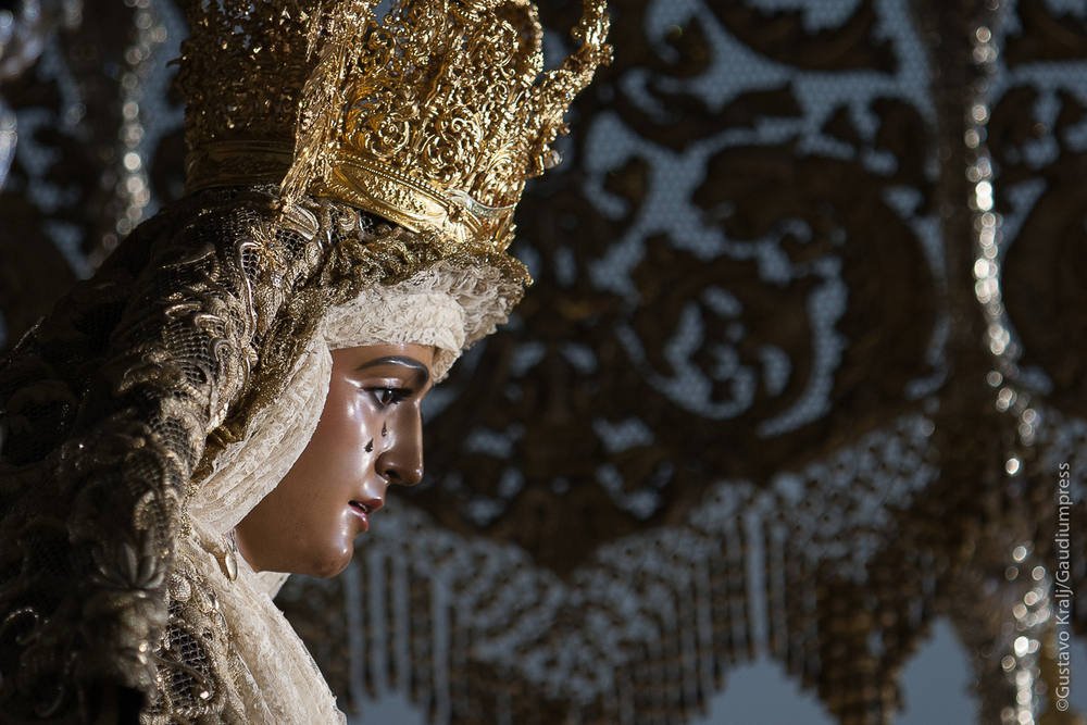 Sevilla, España: Virgen de la Esperanza de Triana - Foto: Gustavo Kralj/Gaudiumpress