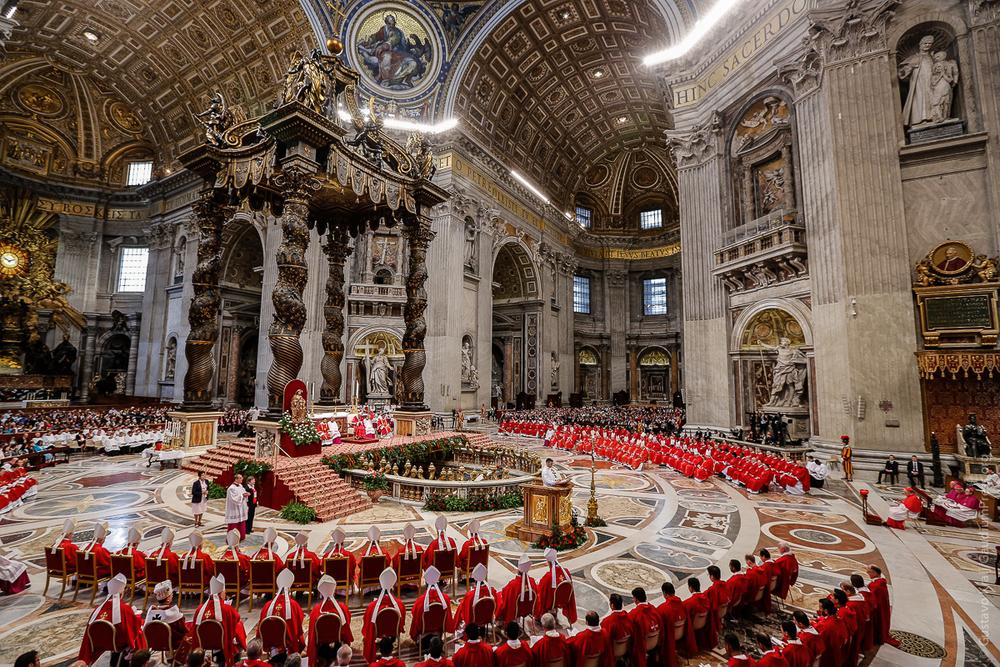 Vaticano: Misa de Pentecostes 2015. Foto: Gustavo Kralj/Gaudiumpress