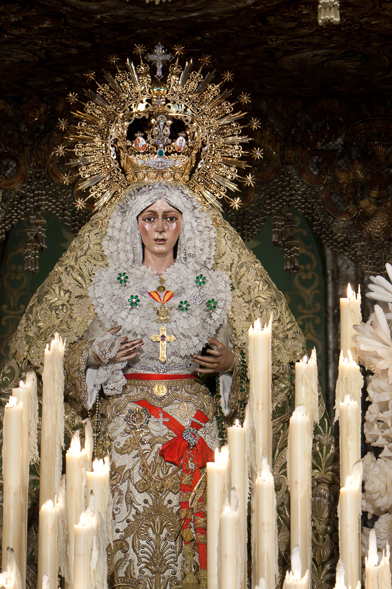 Sevilla, España: Maria de la Esperanza Macarena. Foto: Gustavo Kralj/Gaudiumpress