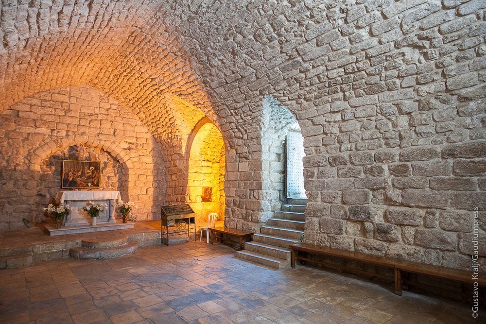 Sinagoga de Nazareth donde predicó Jesús. Foto: Gustavo Kralj/Gaudiumpress