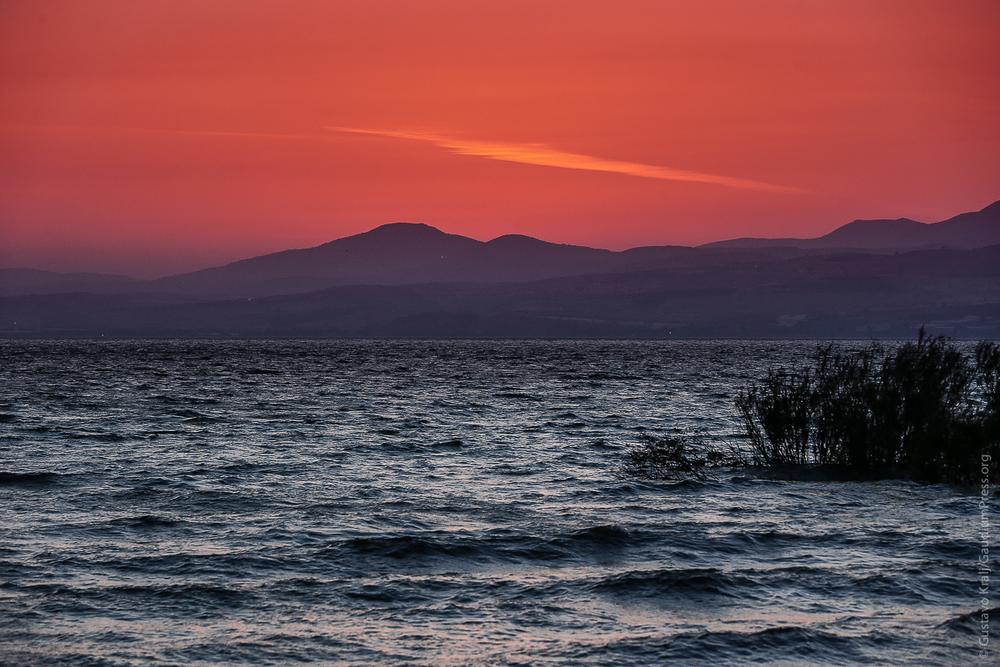 Mar de Galilea. Foto: Gustavo Kralj/gaudiumpress