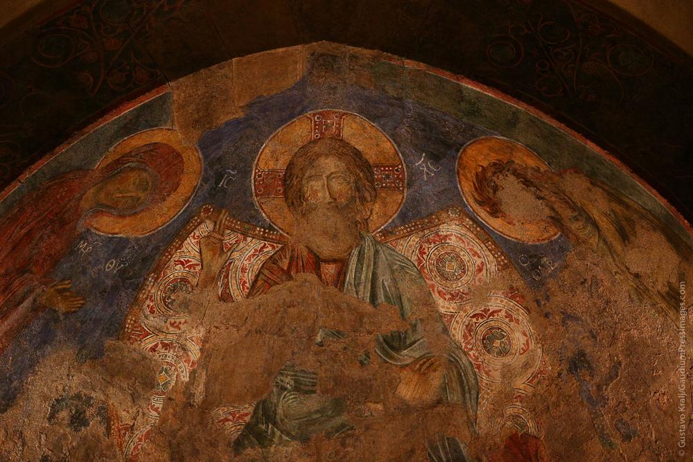 Jesús enseñando. Mosaicos de Abu Gosh, Tierra Santa. Foto: Gustavo Kralj/Gaudiumpress