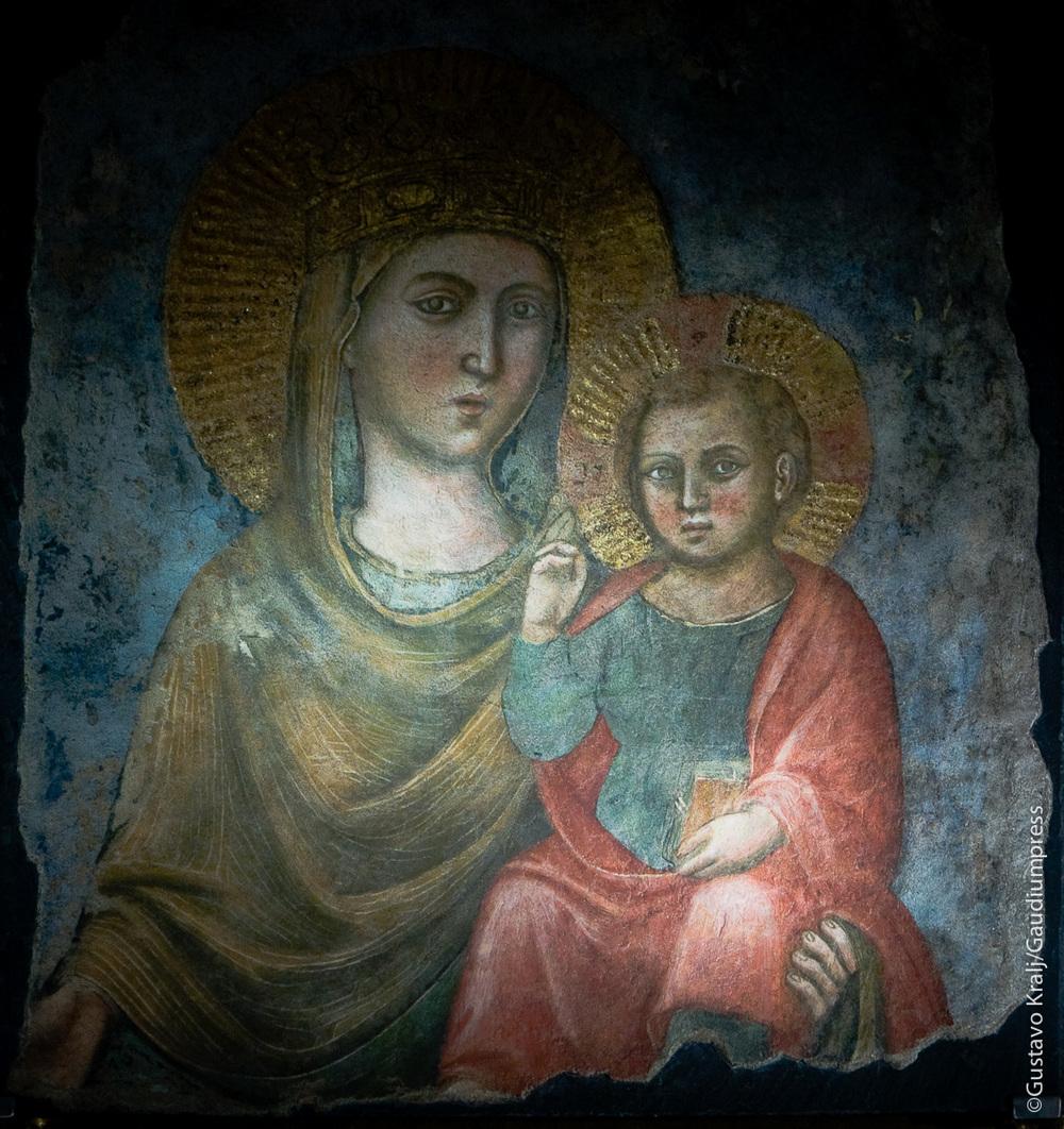 Madonna della strada. Basilica del Gesu, Roma. Foto: Gustavo Kralj/GaudiumpressImages