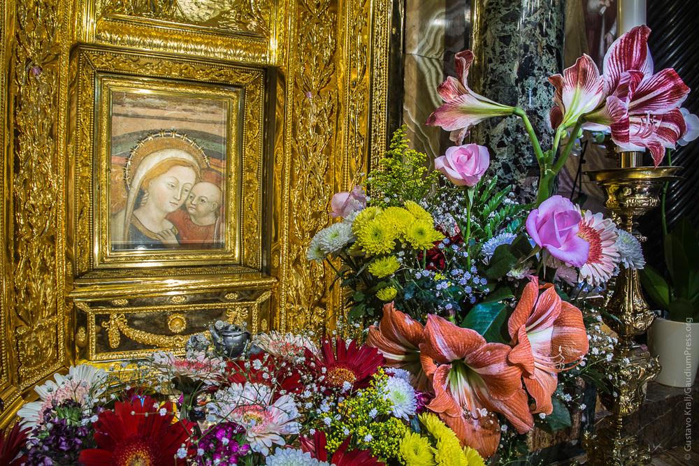 Madre del Buen Consejo, Genazzano, Italia. Foto: Gustavo Kralj/GaudiumpressImages.com