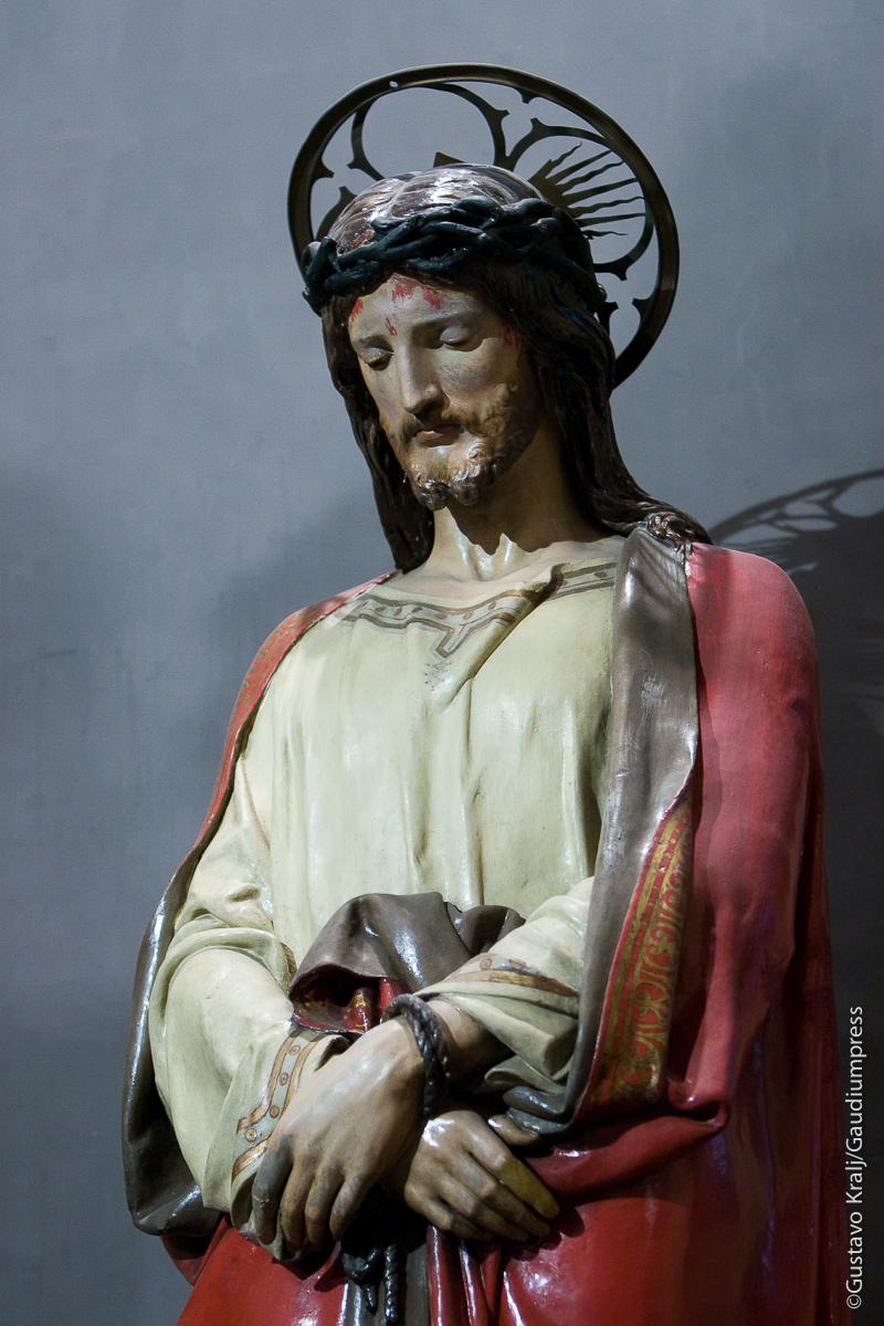 «Si el mundo los odia, sepan que antes me ha odiado a mí.»Roma: Basilica del Perpetuo Socorro. Foto: Gustavo Kralj/GaudiumpressImages.com