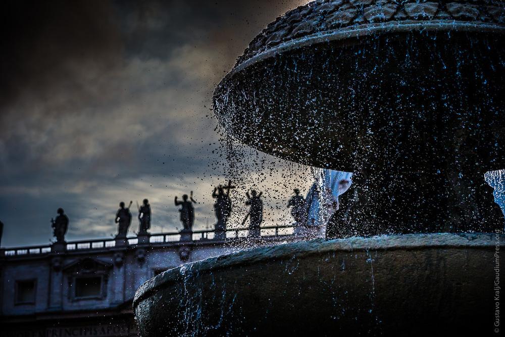 Roma: Plaza de San Pedro. Foto: Gustavo Kralj/GaudiumpressImages.com