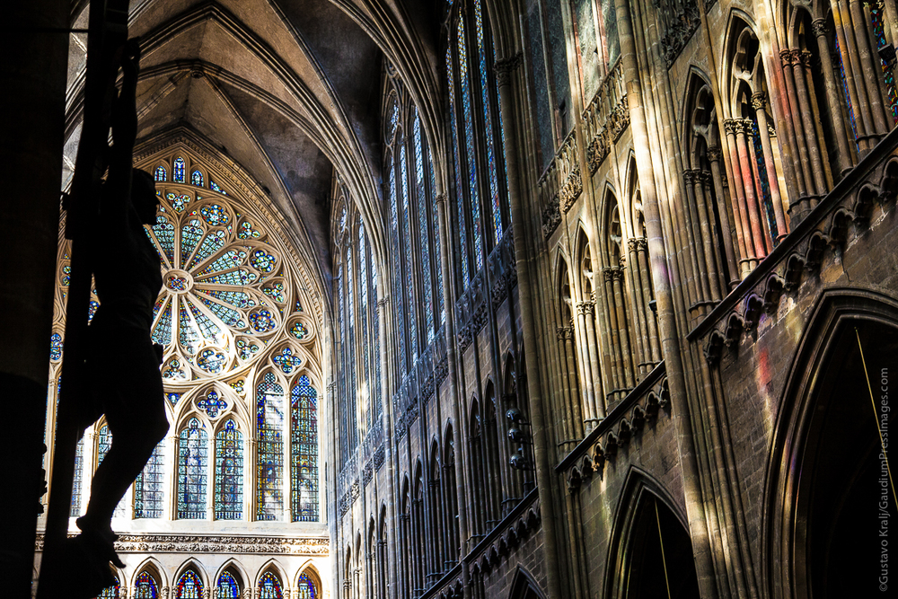Metz, Francia: interior de la Catedral - Foto: Gustavo Kralj/GaudiumpressImages.com