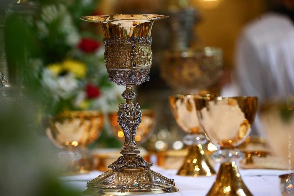 Tierra Santa; Misa en la Basilica del Santo Sepulcro. Foto: Gustavo Kralj/GaudiumpressImages.com