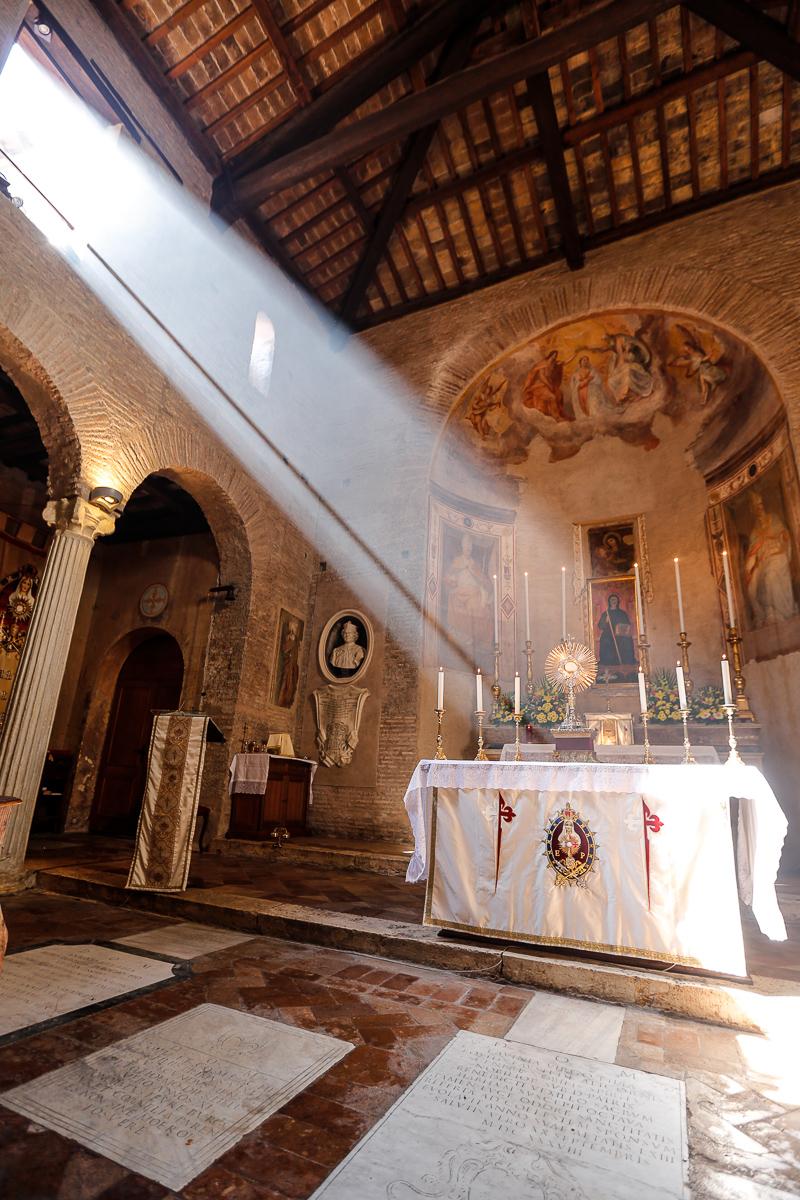 Roma: Adoración Eucarística. Foto: Gustavo Kralj/GaudiumpressImages.com