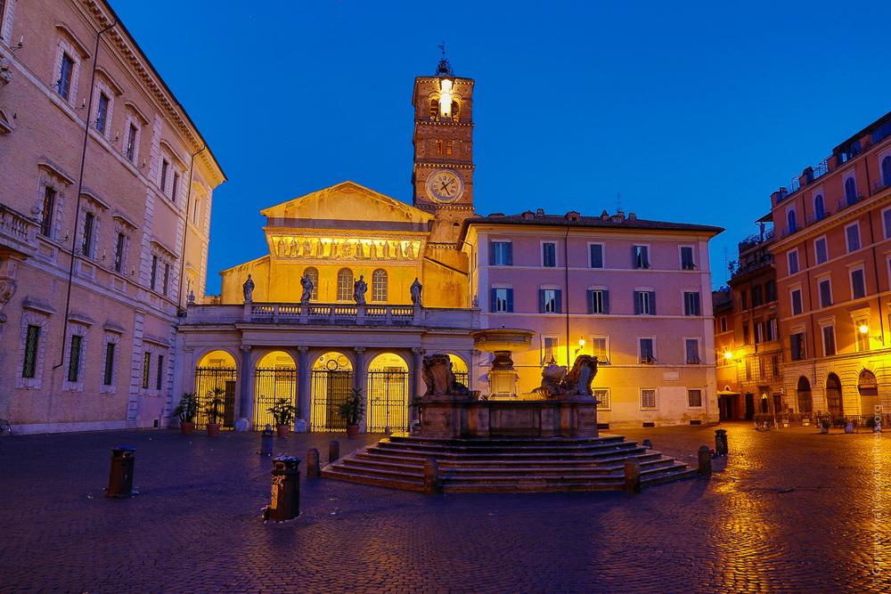 Rome: Santa Maria in Trastevere - Foto: Gustavo Kralj/GaudiumpressImages,com