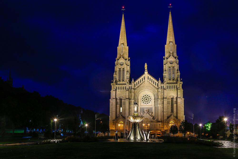 Quebec, Canadá: Catedral de Notre Dame de Beaupré. Foto: Gustavo Kralj/GaudiumpressImages.com