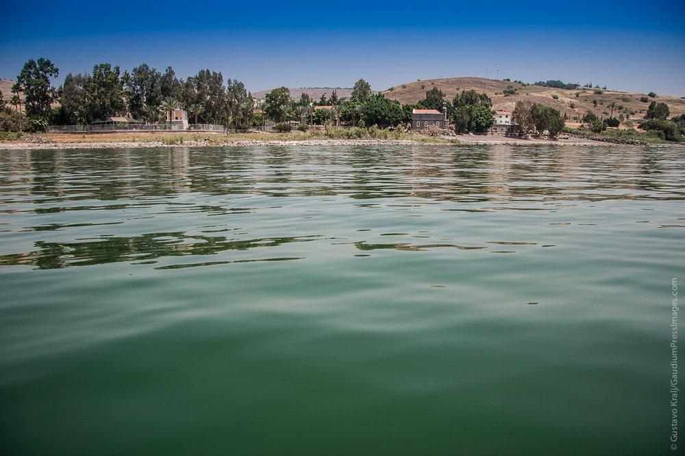 Tierra Santa: Mar de Galilea - Foto: Gustavo Kralj/Gaudiumpressimages.com