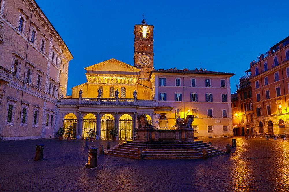 Roma: Santa Maria In Trastevere. Foto: Gustavo Kralj/GaudiumpressImages.com