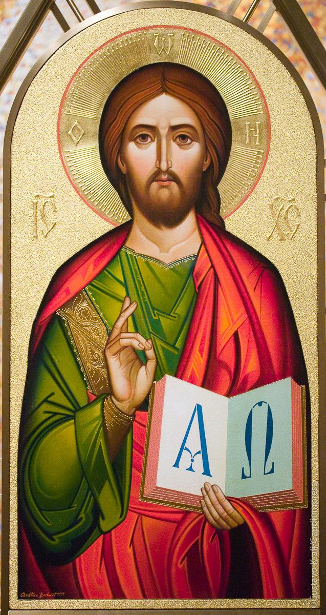JEsus enseñando. Santiario Nacional de la Inmaculada, Washington DC, EUA. Foto: Gustavo kralj/GaudiumpressImages.com