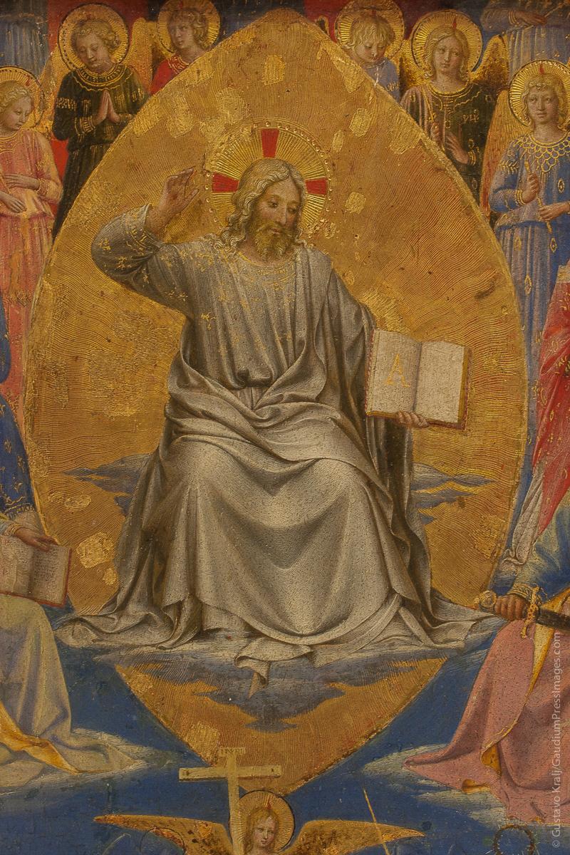Jesus Juez Supremo. Fra Angelico. Foto: Gustavo Kralj/GaudiumpressImages.com