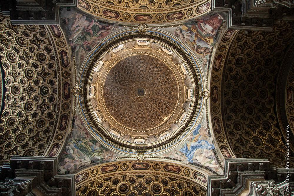 Roma: Basilica de San Carlos Borromeo. Foto: Gustavo Kralj/GaudiumpressImages.com