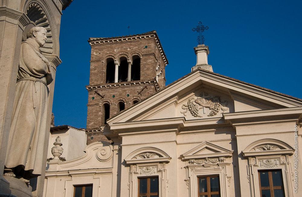 Roma: Basílica de San Bartolomeo. Foto: Gustavo Kralj/GaudiumpressImages.com