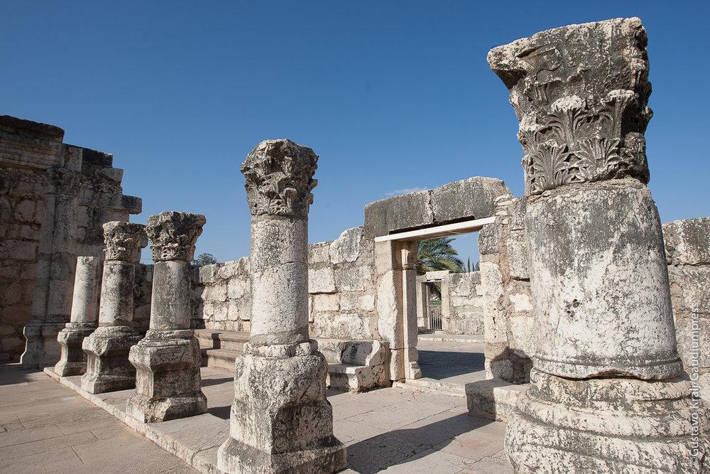 Tierra Santa: Restos de la Sinagoga de Cafernaum. Foto: Gustavo Kralj/GaudiumpressImages.com
