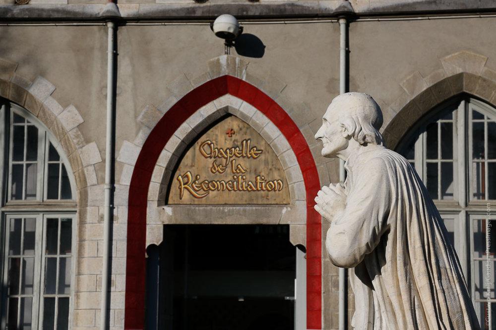 Lourdes, Francia: Capilla de las Confesiones. Foto:Gustavo Kralj/GaudiumpresImages.com