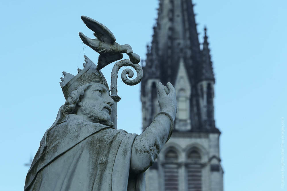 Lourdes, Francia: San Remigio. Foto: Gustavo Kralj/GaudiumpressImages.com