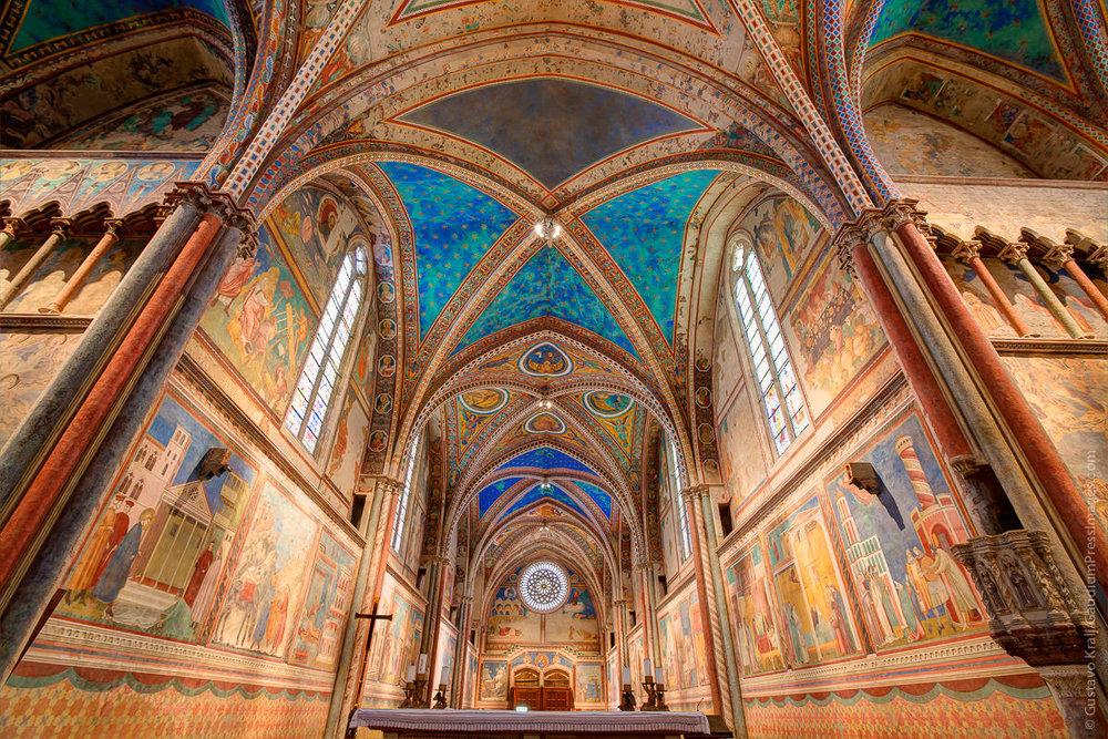 Asís, Italia: Basílica de San Francisco. Foto: Gustavo Kralj/GaudiumpressImages.com