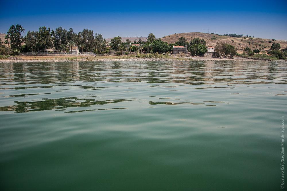 Tierra Santa: vista del Mar de Galilea. Foto: Gustavo Kralj/GaudiumpressImages.com
