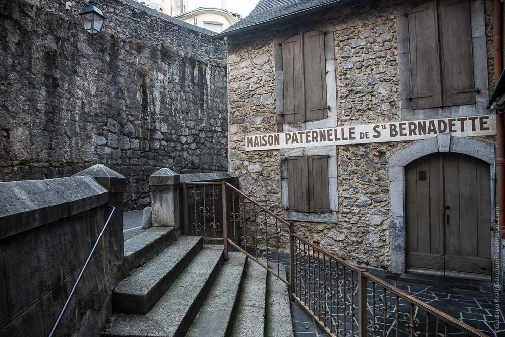 Lourdes, France: paternal House of  St Bernardette Soubirous. Photo: gustavo Kralj/GaudiumpressImages.com