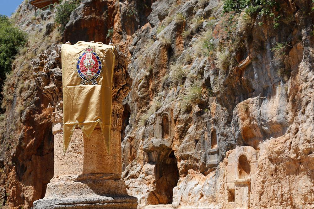 Tierra Santa: Ruinas de Cesarea de Filipo. Foto: Gustavo Kralj/GaudiumpressImages.com
