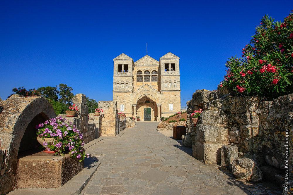 Tierra Santa: Basilica de la Transfiguración en el Monte Tabor. Foto: Gustavo Kralj/GaudiumpressImages.com