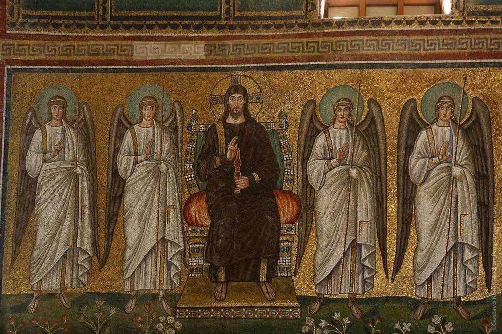 Jesús. Mosaicos de Ravena, Italia. Foto: Gustavo Kralj/GaudiumpressImages.com