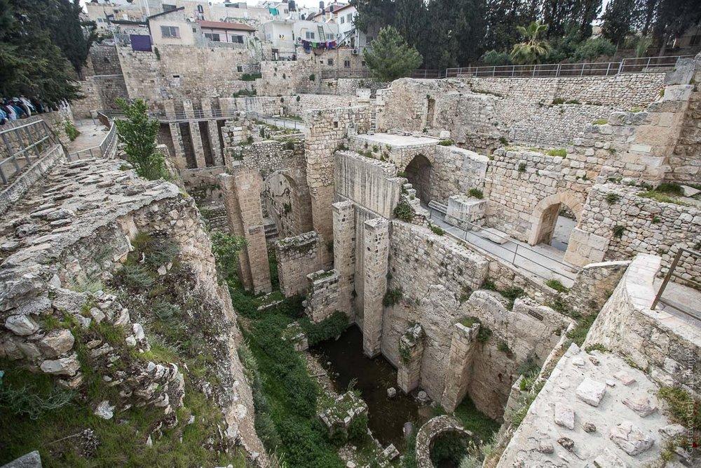 Jerusalem: Piscina de Bethesda. Foto: Gustavo Kralj/GaudiumpressImages.com