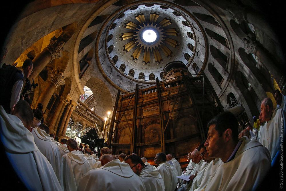 Jerusalem: El Santo Sepulcro. Foto: Gustavo Kralj/GaudiumpressImages.com